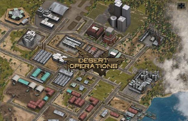 Hra Desert Operations: výborná strategická hra z vojenského prostředí