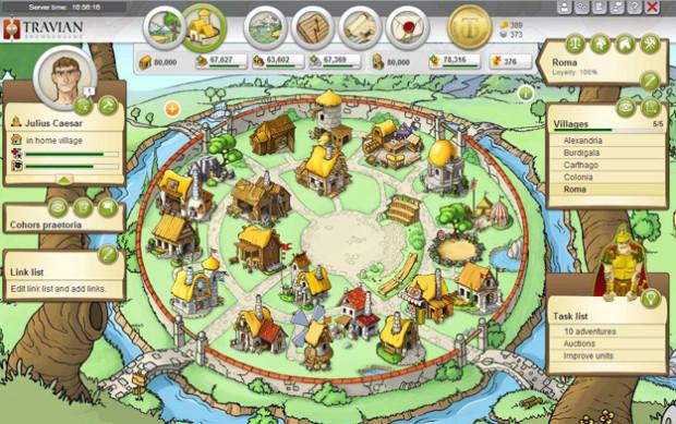 Hra Travian: jedna z nejlepších budovatelských her všech dob