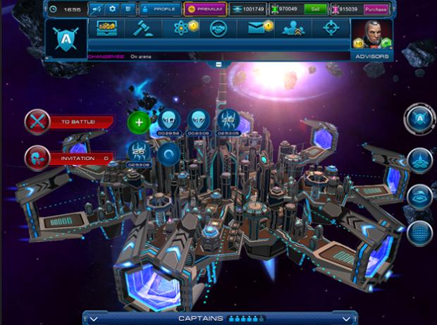 Hra Astro Lords: akční MMORPG scifi hra z vesmíru