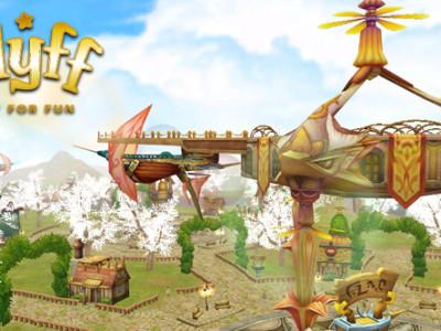 Hra Fly for Fun: odpočinková MMORPG fantasy hra