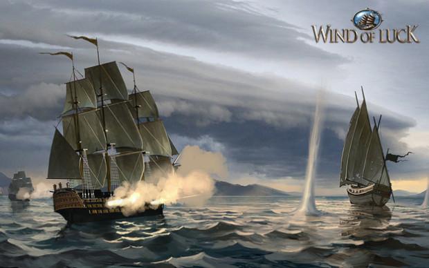Hra Wind of Luck: brázděte po mořích na své lodi