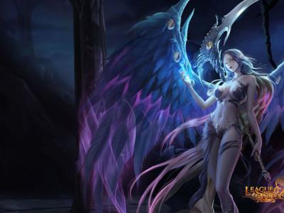 Hra League of Angels: bojujte po boku svého strážného anděla