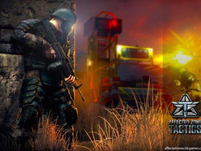 Hra Affected Zone Tactics: oblíbená válečná strategie