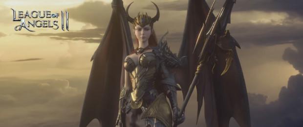 Hra League of Angels II: bojujte po boku sexy strážních andělů