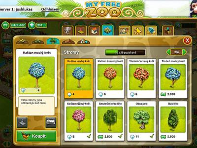 Hra My Free Zoo: postavte si vlastní zoologickou zahradu