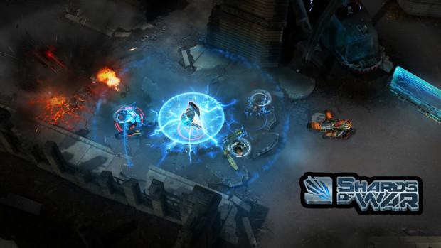 Hra Shards of War: nová vynikající scifi hra od MOBA