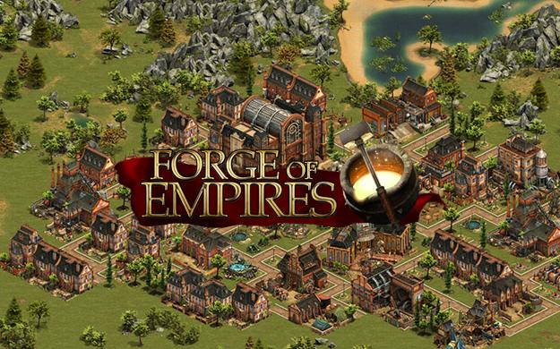 Online hra Forge of Empires registrace zdarma