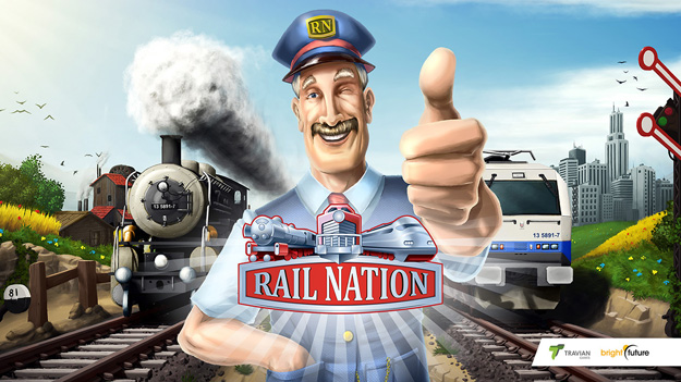 Online hra na Android Rail Nation ke stažení download zdarma
