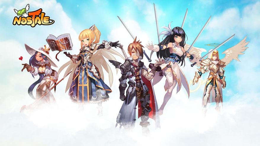 Animovaná MMORPG online hra Nostale registrace zdarma