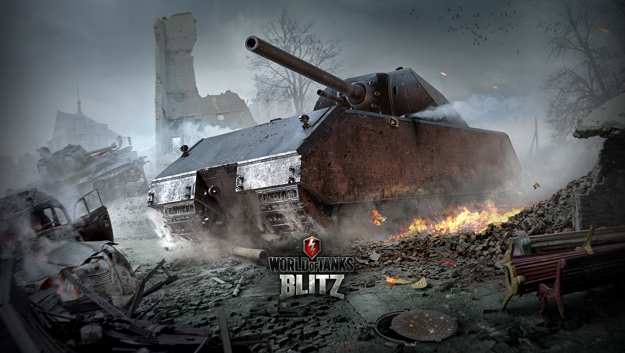 Free to play online hra World of Tanks Blitz na Android