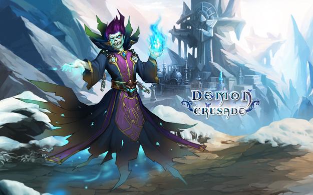 Prohlížečová (browserová) MMORPG online hra Demon Crusade registrace zdarma