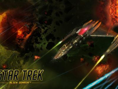 Hra Star Trek: Alien Domain, vynikající vesmírná hra