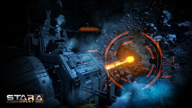 MMO online hra na PC Star Conflict CZ na registrace ke stažení (download) zdarma