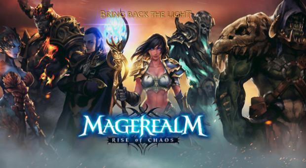 Hra MageRealm: Rise of Chaos, probojujte se ke slávě