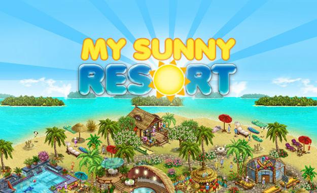 Online hra My Sunny Resort od Upjers registrace a přihlášení zdarma