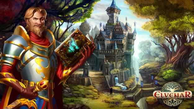 Prohlížečová online hra Elvenar registrace zdarma