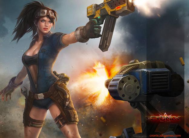 Multiplayerová MMORPG MOBA online hra Cronix registrace zdarma