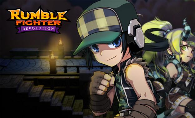 Free to play MMO online hra Rumble Fighter ke registrace stažení (download) zdarma