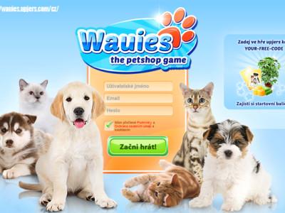 Hra Wauies: otevřit si obchod s domácími zvířaty