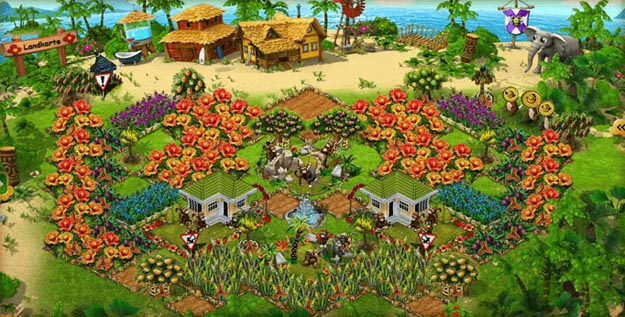 Hra Farmerama - online simulátor farmaření