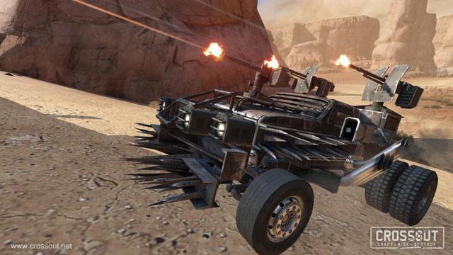 Hra Crossout - akční automobilová střílečka
