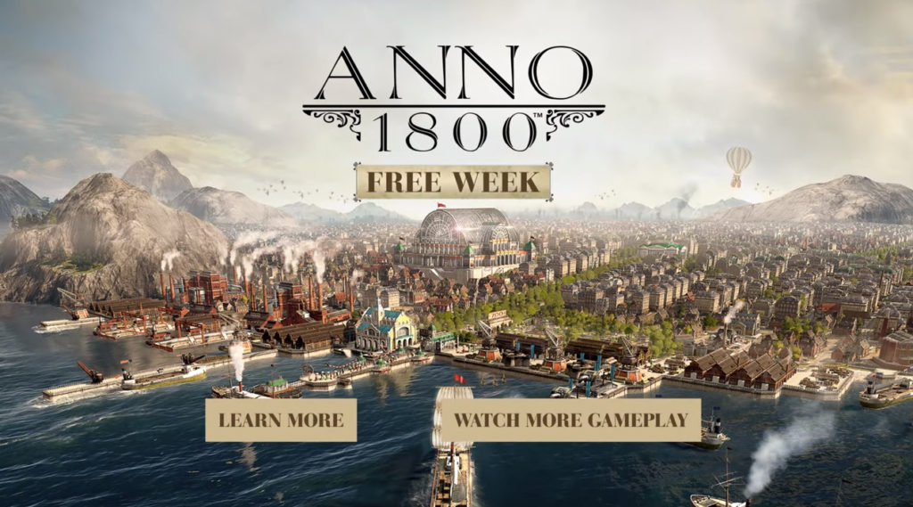 Anno 1800 - vraťte se do času průmyslové revoluce
