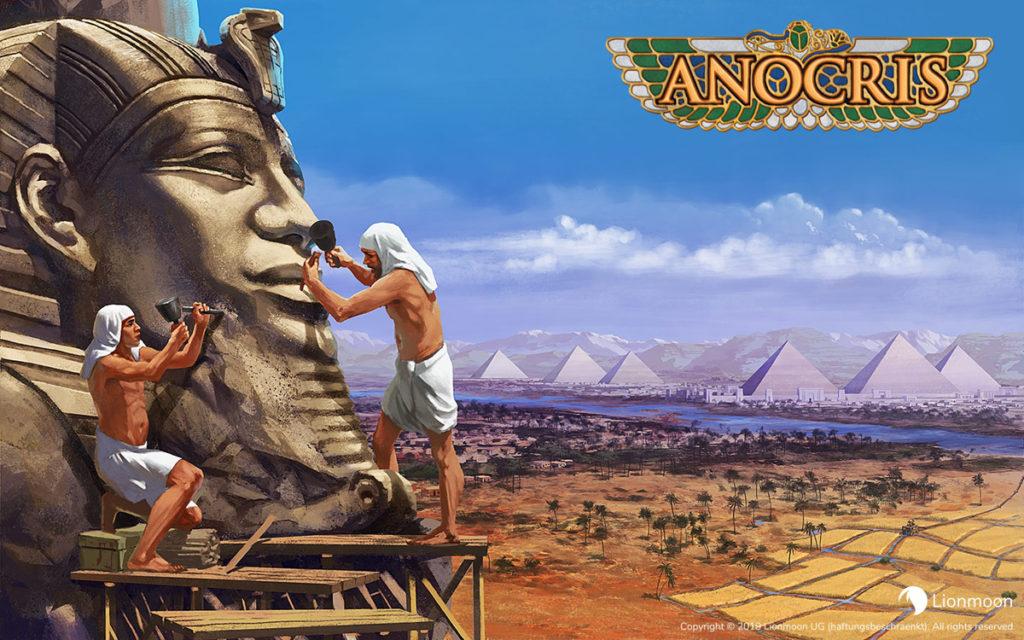 Anocris - aneb vydejte se budovat civilizaci do antického Egypta