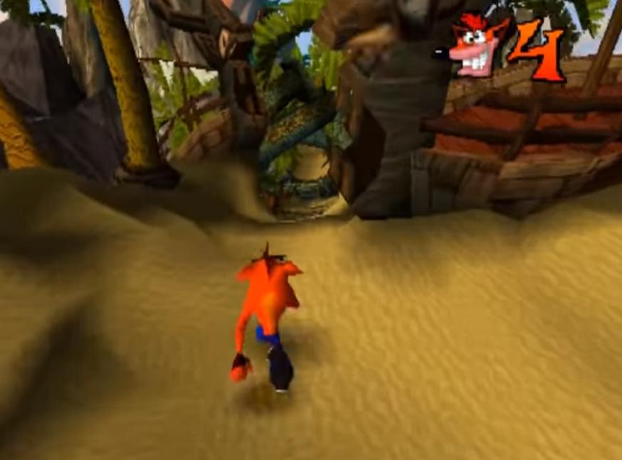 Crash Bandicoot 1 - oblíbená videohra z minulého tisíciletí