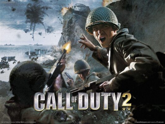Call of Duty 2 - druhé pokračování vojenské akce