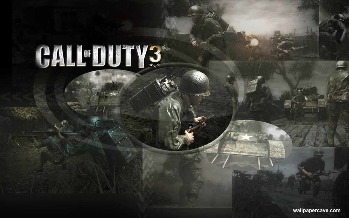 Call of Duty 3 - vlast volá do zbraně již potřetí